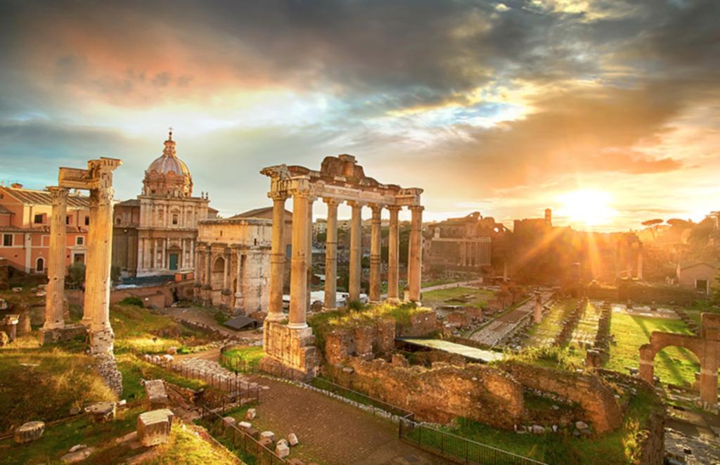 The Palatine Hill Rome