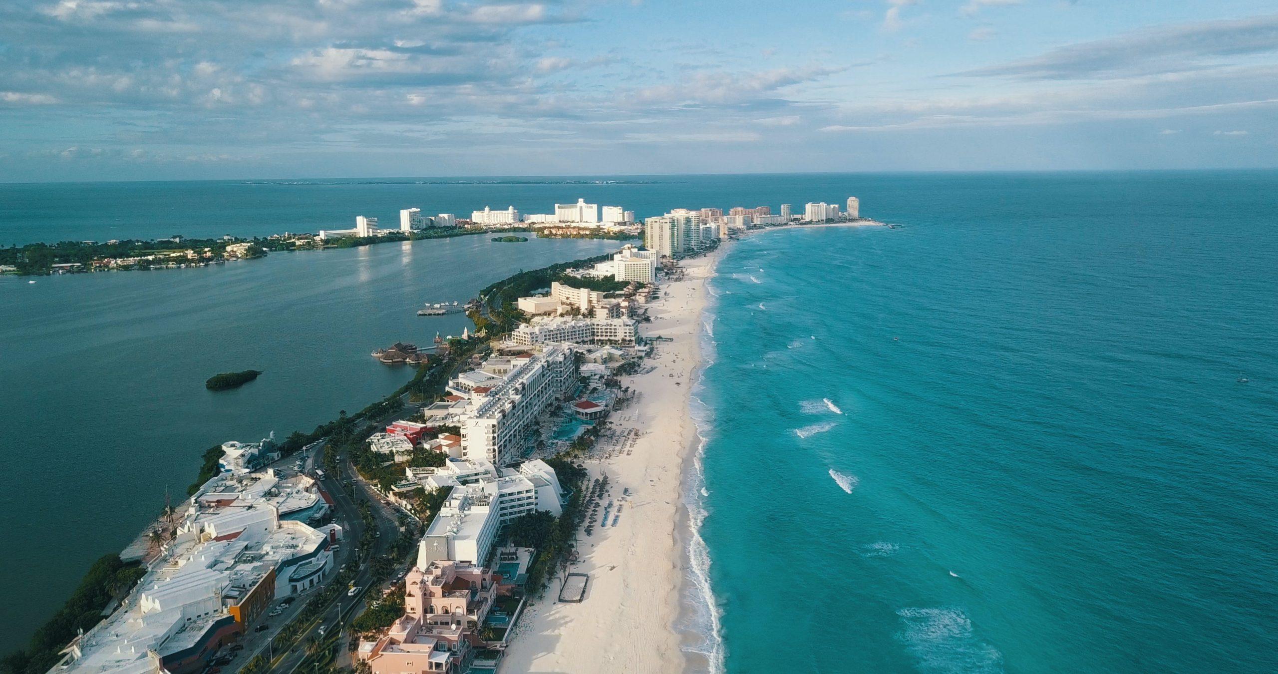 Cancun Drone View By Gerson Repreza [unsplash]