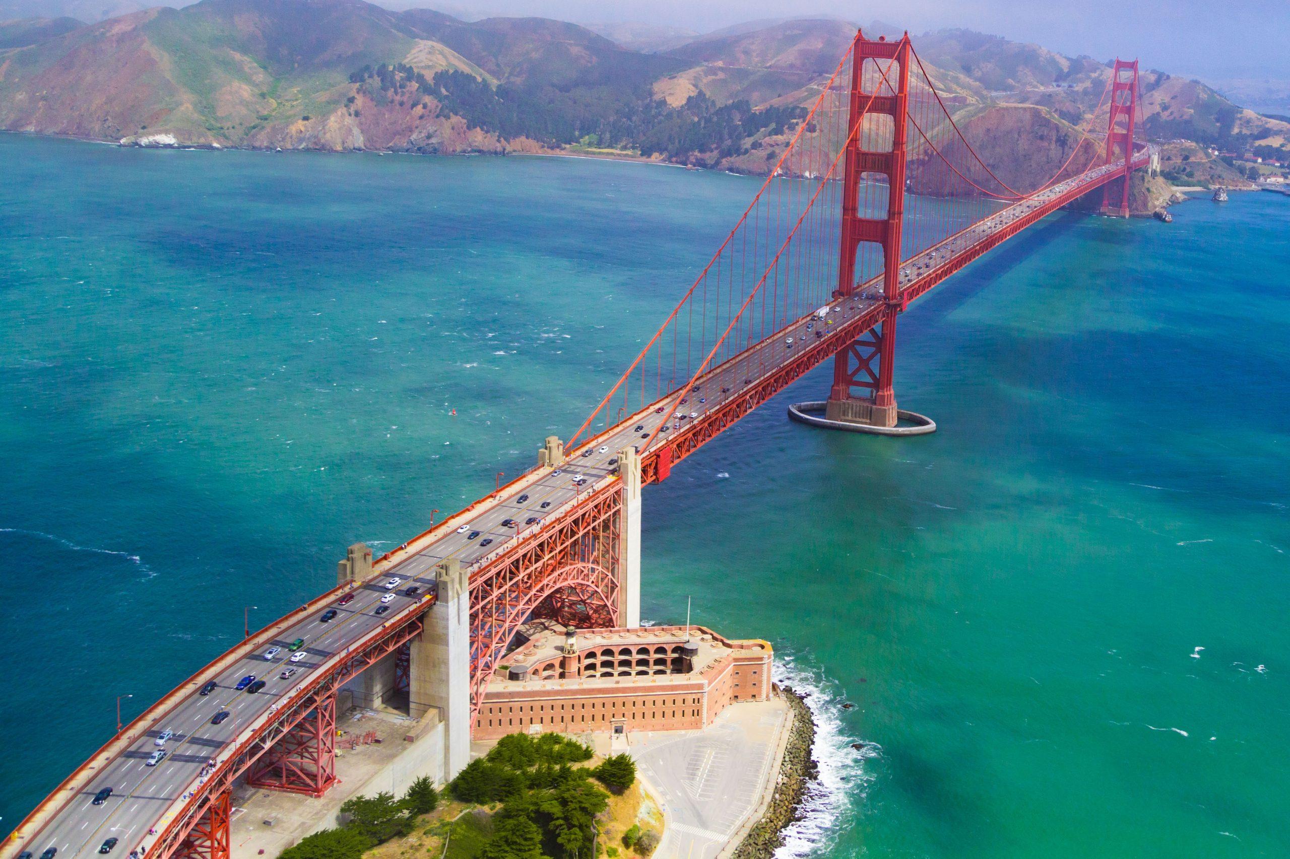 Golden Gate Bridge By Edgar Chaparro [unsplash]