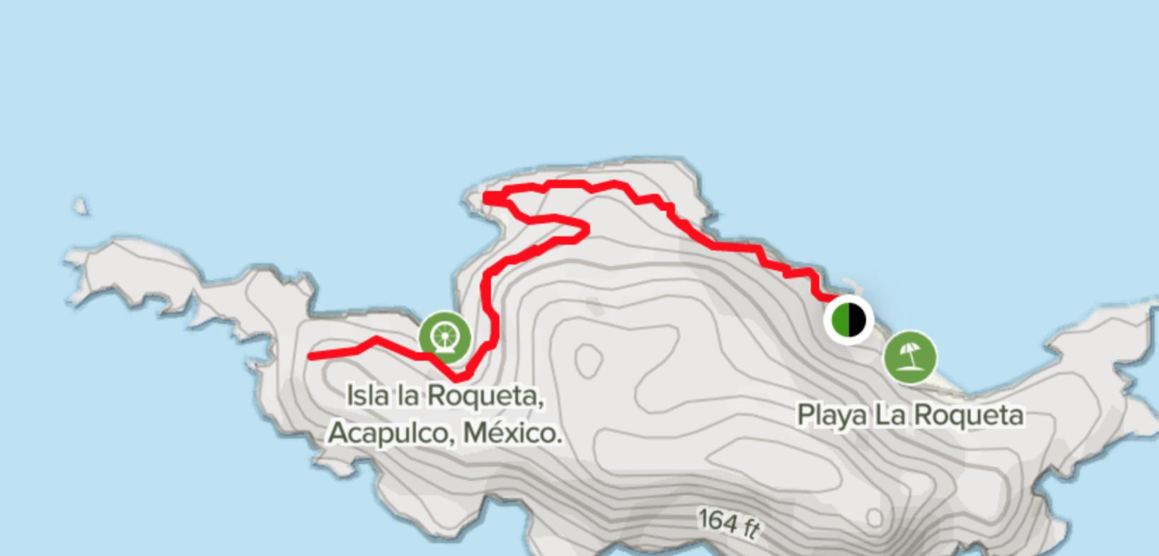 La Roqueta Mexico [alltrails.com]